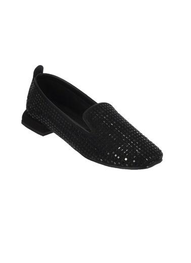 Mhd 323 Siyah Kadın Günlük Ayakkabı Siyah